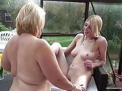 Granny, Lesbian, Mature, MILF, Old and Young