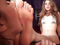 Foot Fetish, Lesbian