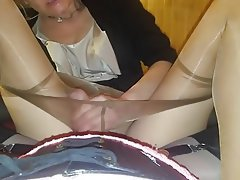 POV, High Heels, Wife, Pantyhose