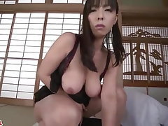 Asian, Blowjob, Japanese, Lingerie, Big Tits