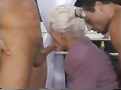 Double Penetration, Granny, Mature, Old and Young