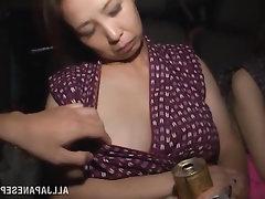 Asian, Babe, Blowjob, Cumshot, Mature