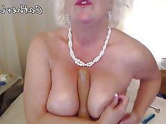 Blonde, Mature, MILF, Webcam