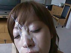 Asian, Cumshot, Facial, Japanese