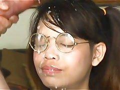 Asian, Cumshot, Facial, Japanese, Big Boobs