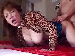Asian, Big Boobs, Japanese, Mature, Facial