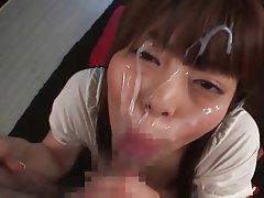 Amateur, Asian, Cumshot, Facial, Japanese