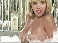 Masturbation, Blonde, Mature, Pantyhose, Anal